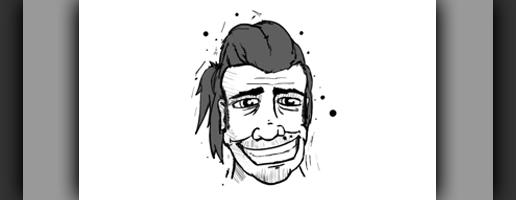 Caricature of Mat