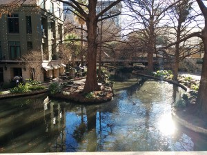 San Antonio is a beautiful city. The riverwalk in the morning is quite the sight.