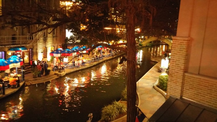 It was great to see the beautiful Riverwalk once more.